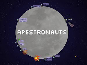 Apestronauts - Massively Multiplayer Outer Space Gorillas Game.