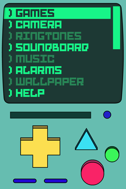 Screenshot: Beemo menu.